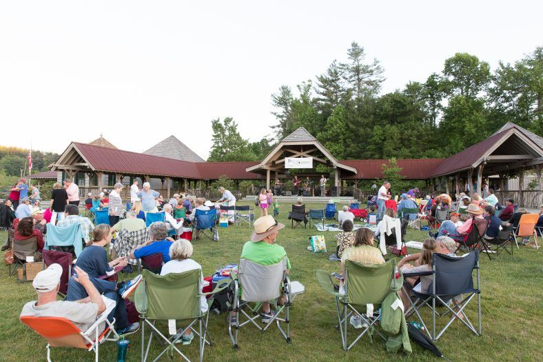 live music at grooving on the green in jackson county
