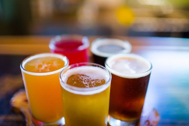 beer flight in jackson county