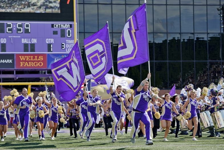 western Carolina football game in jackson county
