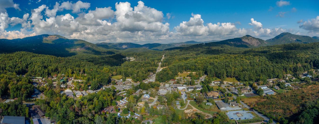 Birdseye view of Jackson county