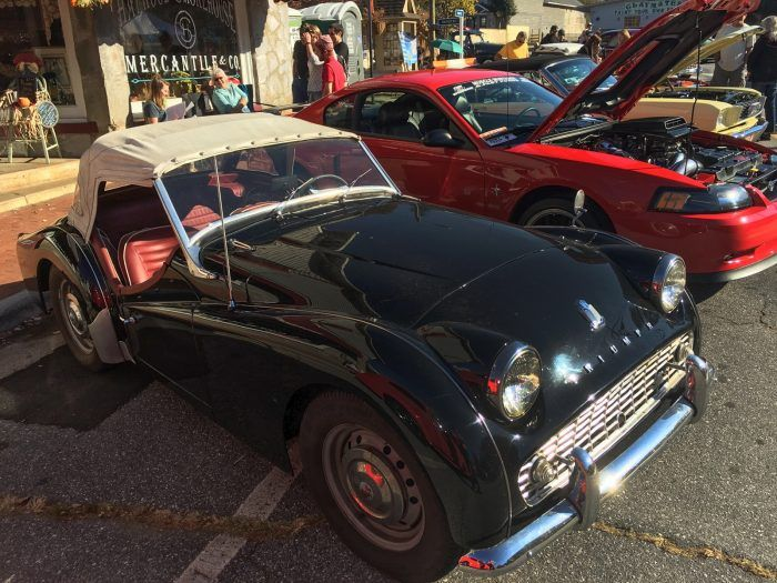 vintage car show in jackson county