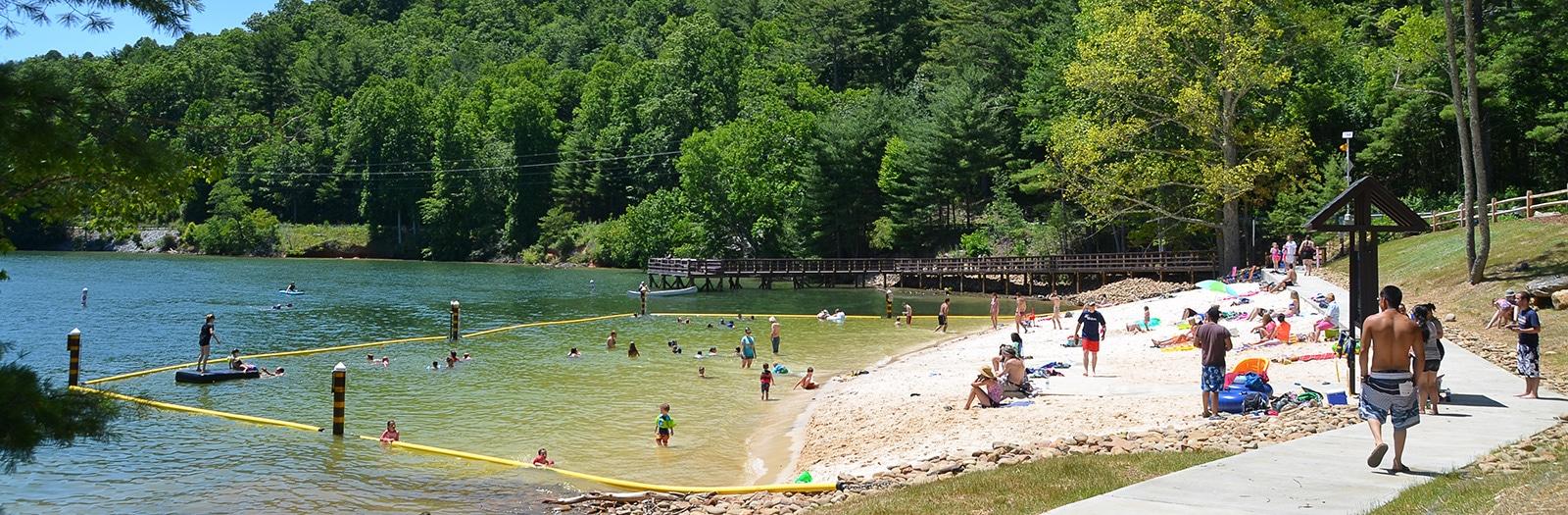 Photo of Lake Glenville Swimming