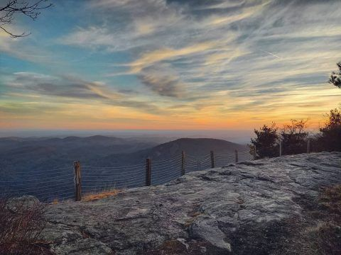 Whiteside Mountain by Jeff Bean