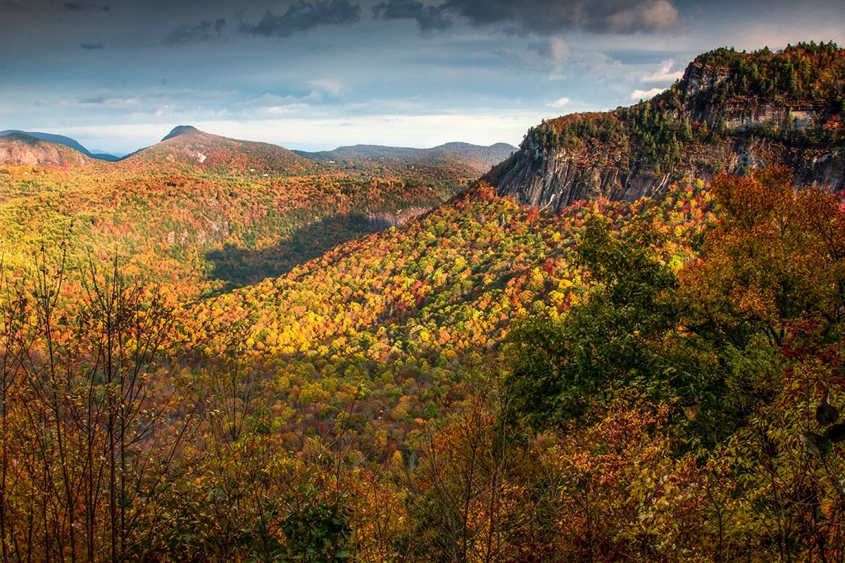 Escape to Jackson County, NC. for Fall Leaf Looking