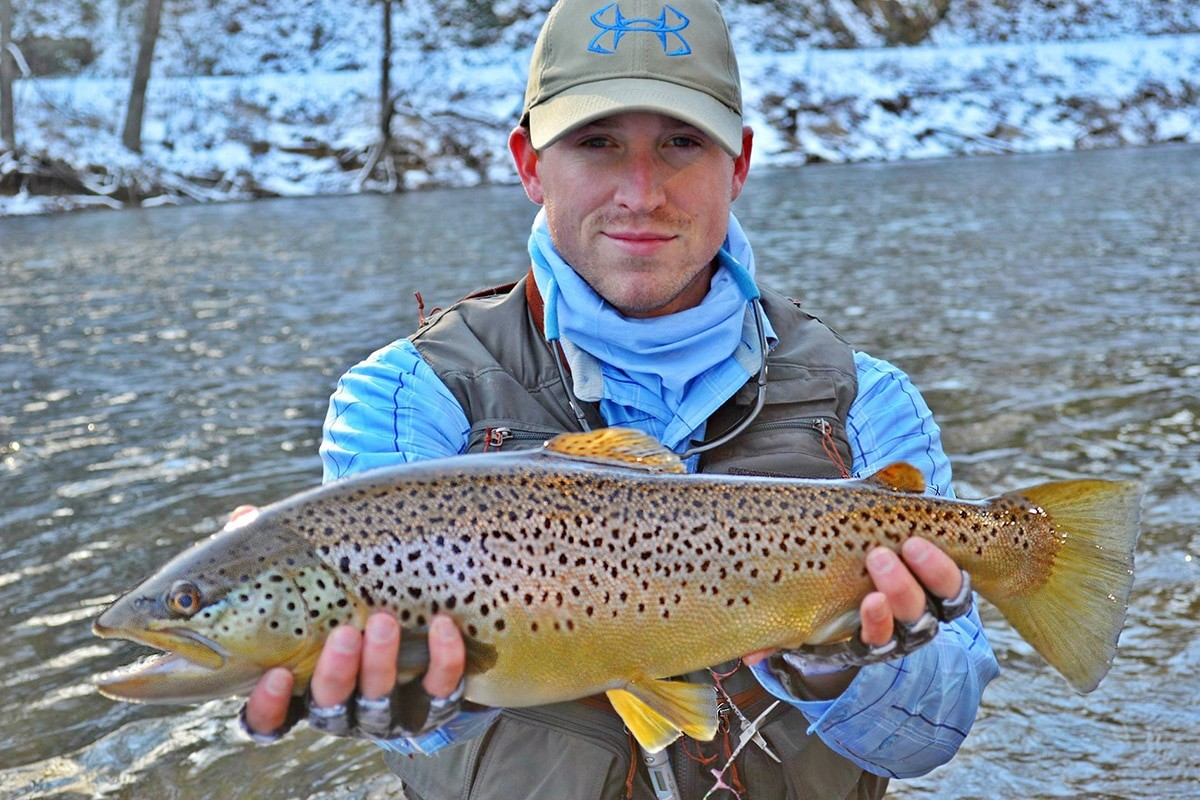 Winter is the Best Time to Fly Fish in Jackson County, NC