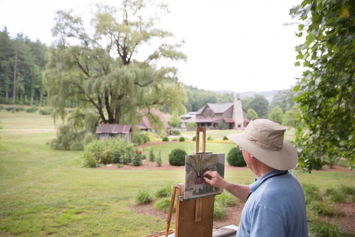 Artists from across the country descend on Cashiers for the Plein Air Festival