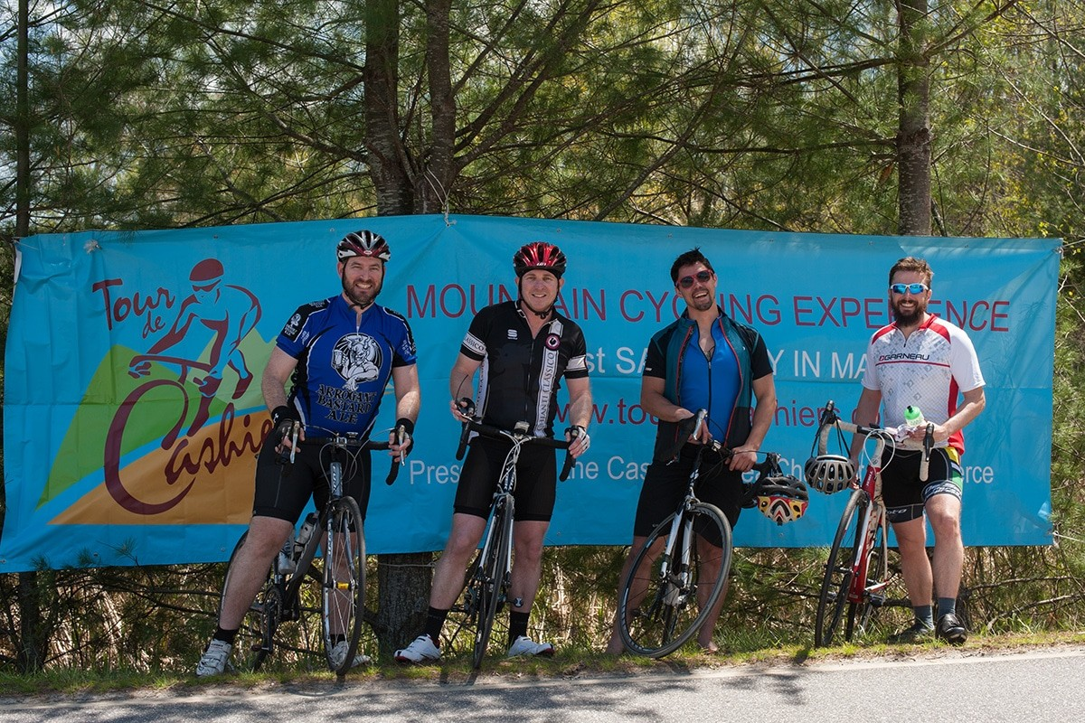 The 24th Annual Tour de Cashiers Mountain Cycling Experience Rolls Out on May 14