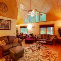 Interior Photo at Tranquility Cabin